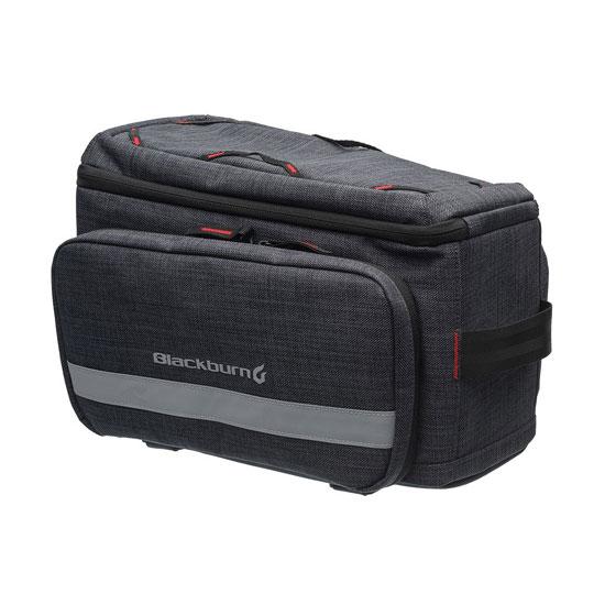 【楽天ポイントアッププログラム開催中】BLACKBURN(ブラックバーン)CENTRAL TRUNK RACK TOP BAG (セントラルトランクラックトップバッグ)リア・サドルバッグ