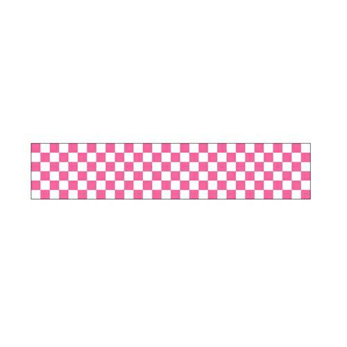 【ロール幕 「 市松 ピンク 」  】のぼり屋工房 3799【業務用】【グループC】