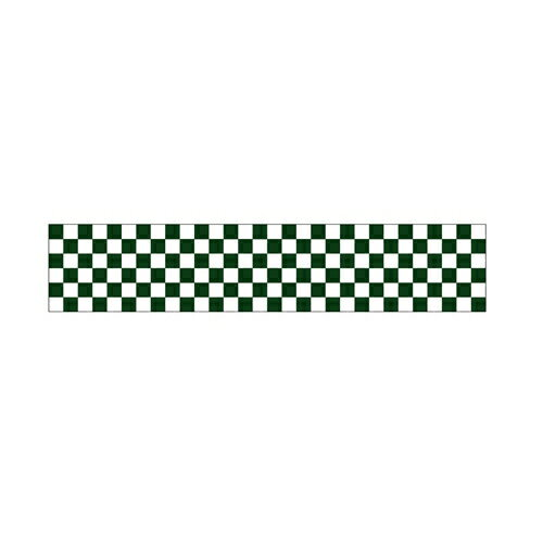 【ロール幕 「 市松 緑 」  】のぼり屋工房 3823【業務用】【グループC】