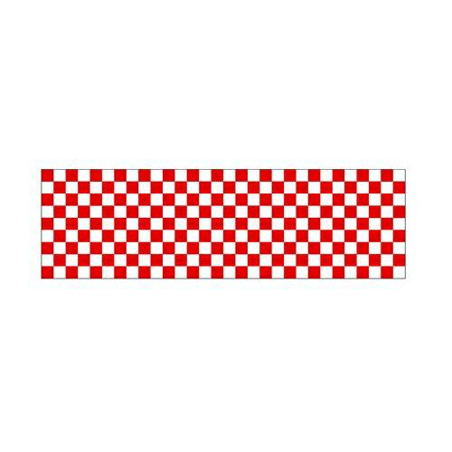 【ロール幕 「 市松 紅白 」  】のぼり屋工房 3844【業務用】【グループC】