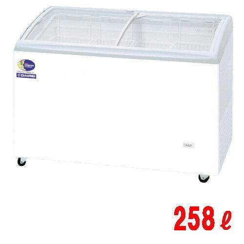 【業務用】無風冷凍ショーケース 258L -25度タイプ W1250×D650×H880 [RIO-125S]