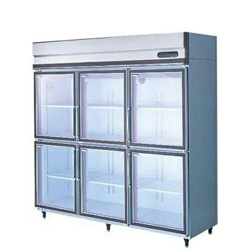 【冷蔵ショーケース】【福島工業】冷蔵ショーケース リーチインショーケース 冷蔵タイプ【UGN-180AG6】W1790×D645×H1950【送料無料】【業務用】【新品】
