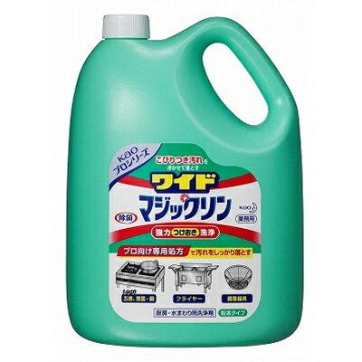 【業務用】 花王 ワイドマジックリン / 3.5kg×4本【送料別】
