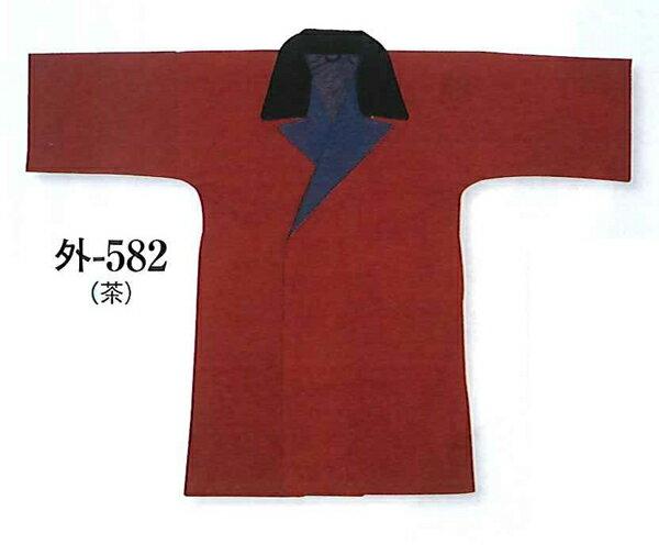 半纏用コート、半天用防寒コート、袢天用、太番手木綿、正花裏地、3色展開