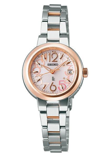 【送料無料】【取り寄せ】ルキア セイコー 電波ソーラー 腕時計 レディース LUKIA SEIKO SSVW018 電波 ソーラー ブランド ステンレス シルバー ローズゴールド ピンク 人気 プレゼント ギフト 時計 うでどけい【国内正規品】