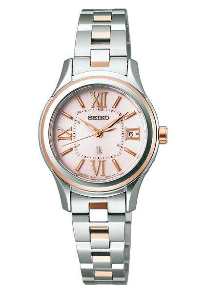 【送料無料】【取り寄せ】ルキア セイコー 電波ソーラー 腕時計 レディース LUKIA SEIKO SSVW034 電波 ソーラー ブランド ステンレス シルバー ローズゴールド ピンク 人気 プレゼント ギフト 時計 うでどけい【国内正規品】