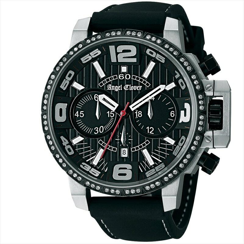 エンジェルクローバー Angel Clover メンズ腕時計 タイムクラフト NTC48SBKLIMITED ブラック