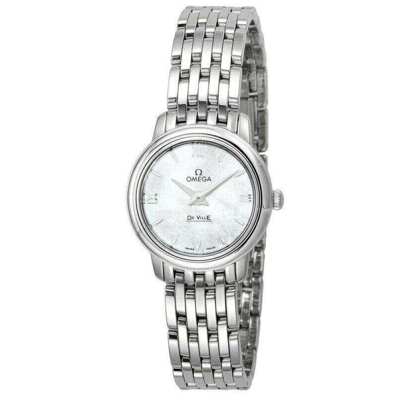 オメガ OMEGA レディース 腕時計 デ・ビル ホワイトパール 424.10.24.60.05.001