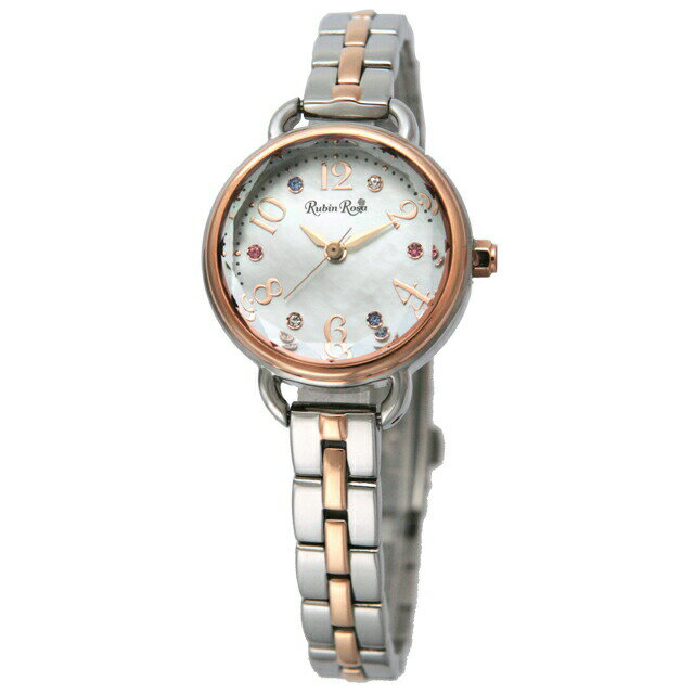 ルビンローザ Rubin Rosa レディース 腕時計 R019SOLTWH