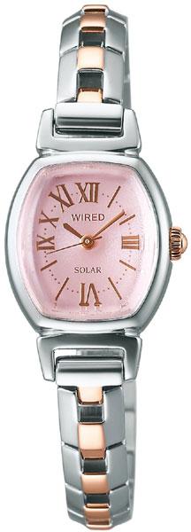 期間限定 エントリーでポイント+4倍  WIRED f ワイアード エフ AGED060 SEIKO セイコー レディース 【安心の正規品】 【送料無料】 【腕時計】