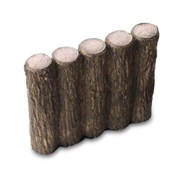 【直送品】【代引き不可】NXstyle 花壇材 擬木 五連250 ×10個 9900261ご注文後3~4営業日後の出荷となります