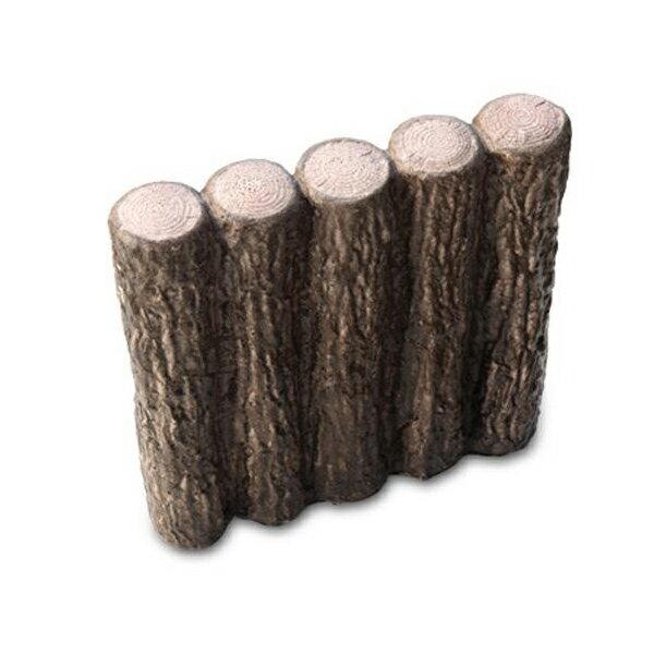 【直送品】【代引き不可】NXstyle 花壇材 擬木 五連300 ×10個 9900262ご注文後2~3営業日後の出荷となります