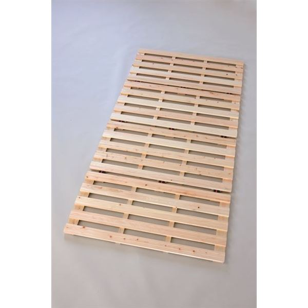 3256 ひのき 四つ折りベッド セミダブル
