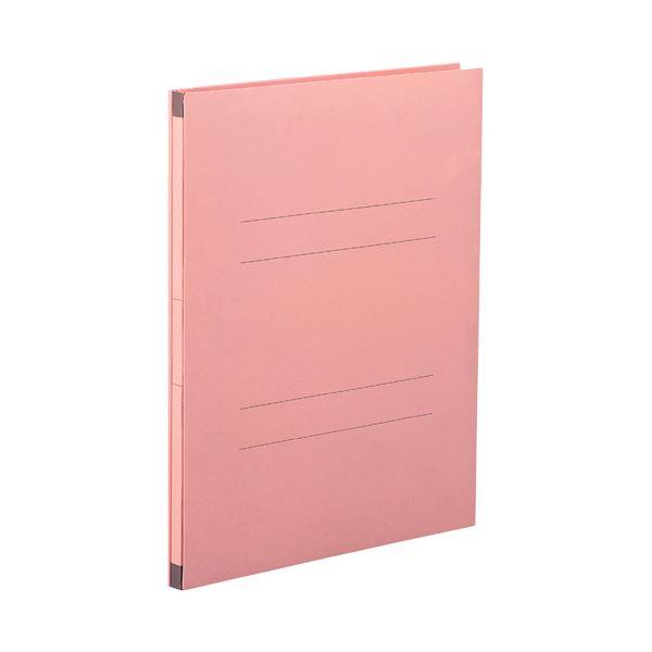 (まとめ) セキセイ のびーるファイル(エスヤード) A4タテ 1000枚収容 背幅17~117mm ピンク AE-50F 1セット(10冊) 【×2セット】