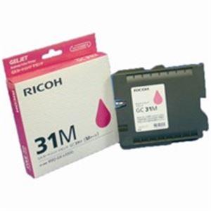 (業務用5セット) RICOH(リコー) ジェルジェットカートリッジ GC31Mマゼンタ