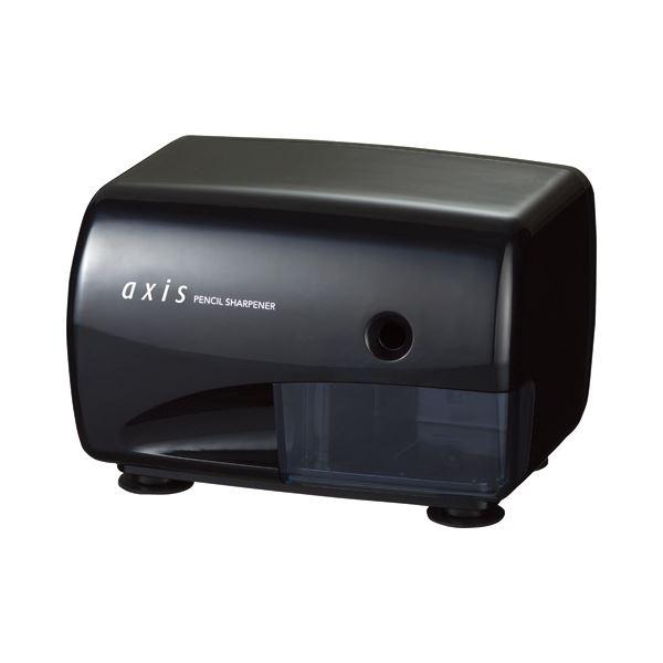 (まとめ) デビカ 電動シャープ SHARPナー A-03 ブラック 040790 1台 【×2セット】