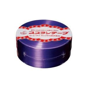 (業務用100セット) CIサンプラス スズランテープ/荷造りひも 【紫/470m】 24202015