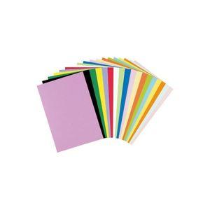 (業務用50セット) リンテック 色画用紙R/工作用紙 【A4 50枚×50セット】 だいだい