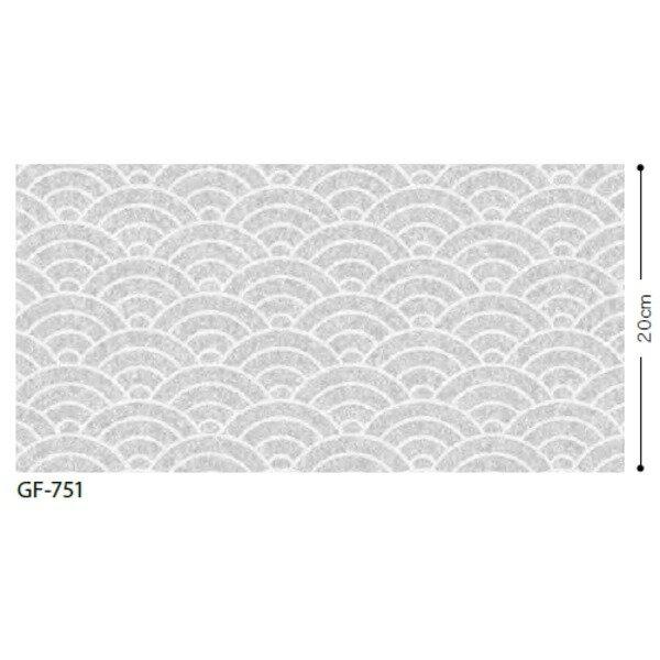 和 青海波 飛散防止ガラスフィルム サンゲツ GF-751 92cm巾 10m巻