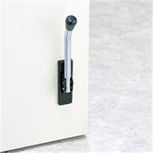 (業務用30セット) 光 ドアピタット MDP100-1 徳用 黒