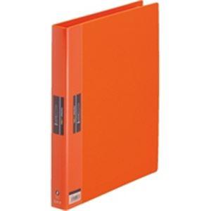 (業務用30セット) キングジム ヒクタス クリアファイル/バインダータイプ 【A4/タテ型】 7139 オレンジ(橙)
