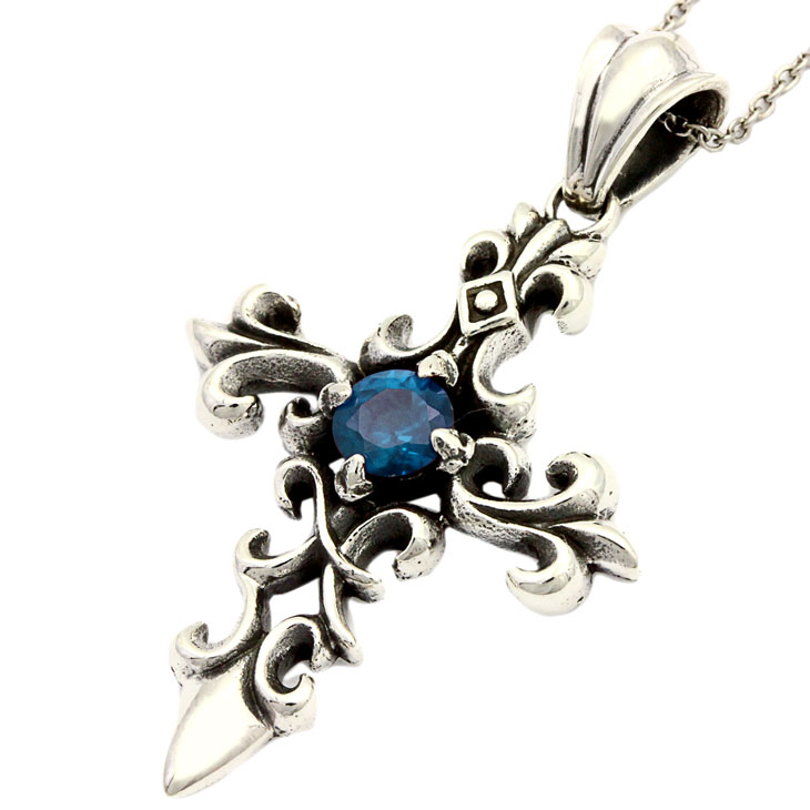 Royal Joker ロイヤルジョーカー セレスティアル クロス(celestial cross)ペンダント ブルー