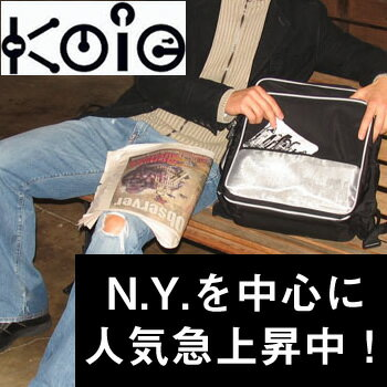送料無料【コイエ モゴコレクション ヨノ】人気急上昇中のカジュアルバッグ。軽量で撥水加工を施したナイロンなど機能的な素材を選び、ポケットが多いのが特徴。