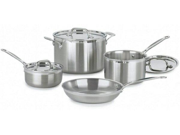 Cuisinart クイジナート ステンレス・クックウェアー4点セットMultiClad Proシリーズ