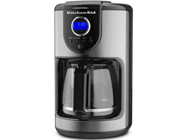 【2年保証】 KitchenAid  キッチンエイド 12カップ・コーヒーメーカー (黒/シルバー) KCM111OB