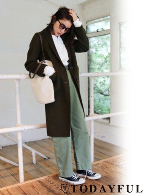 TODAYFUL(トゥデイフル)  Wool Chester Coat  17秋冬.予約【11720010】