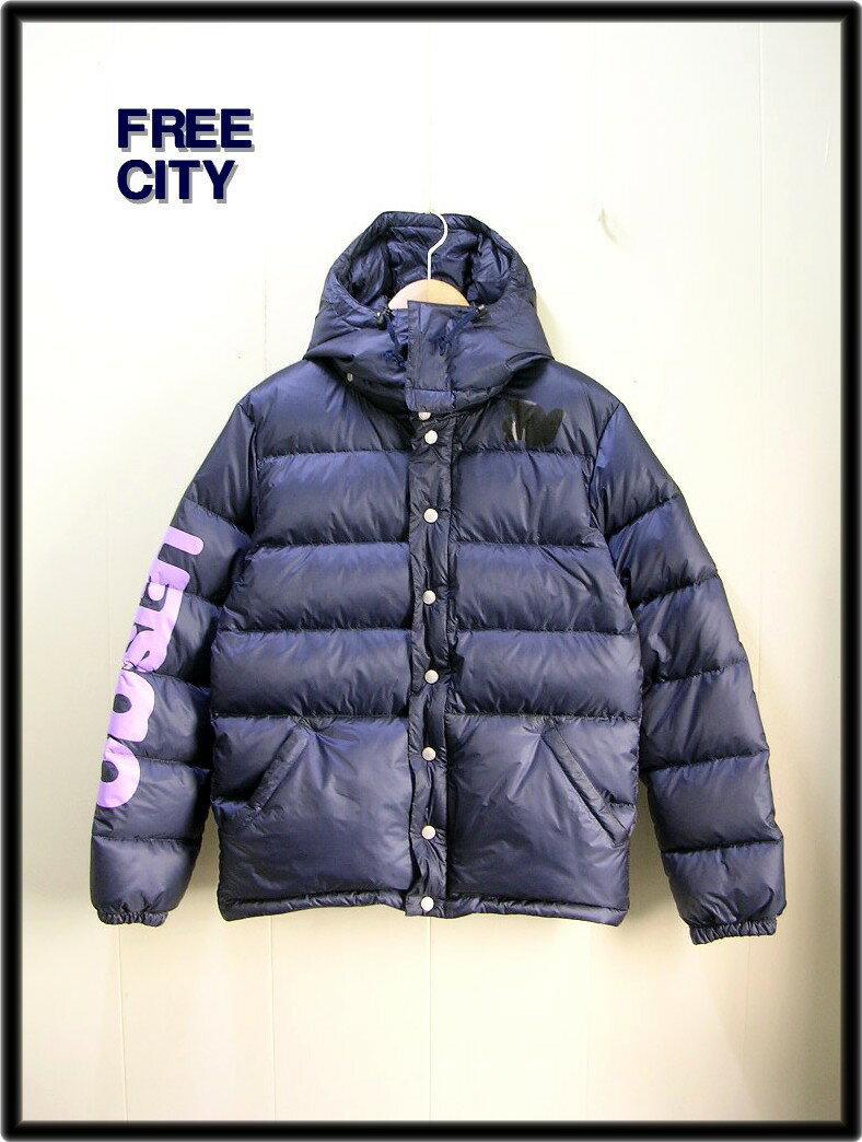 M 紺 Navy【FREE CITY [フリーシティー] DOVEパフィジャケット ダウンジャケット】No.700043-468 FCJDJK01
