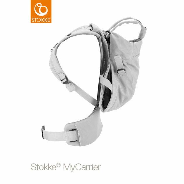 【あす楽対応】ベビーキャリア Stokke MyCarrier(ストッケ マイキャリア フロント&バック) グレー