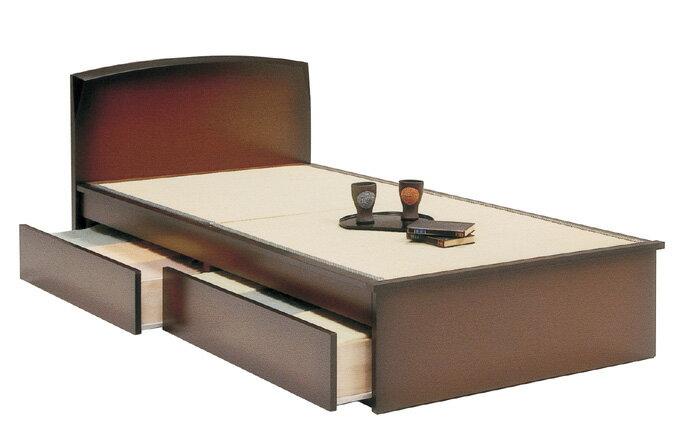 シングルベッド 畳ベッド 都 フラットBOX付 収納スペース 木製ベッド ベッド 一人暮らし ひとり部屋 ひとり用ベッド ベッドフレーム シングルベッド★都シングル(フレーム)【新生活フェア】【02P03Dec16】