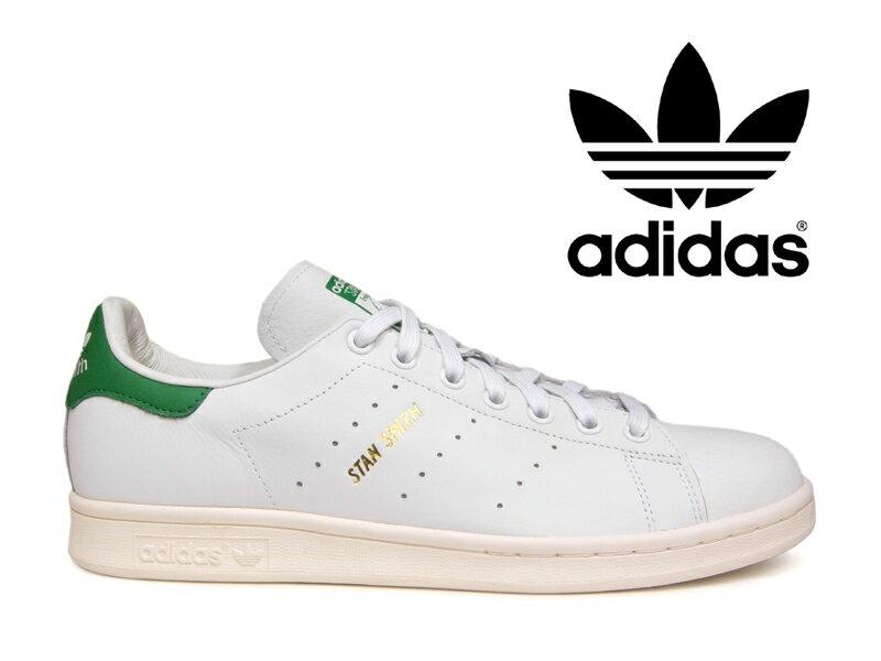 アディダス スニーカー スタンスミス adidas STAN SMITH ホワイト/グリーン 白/緑