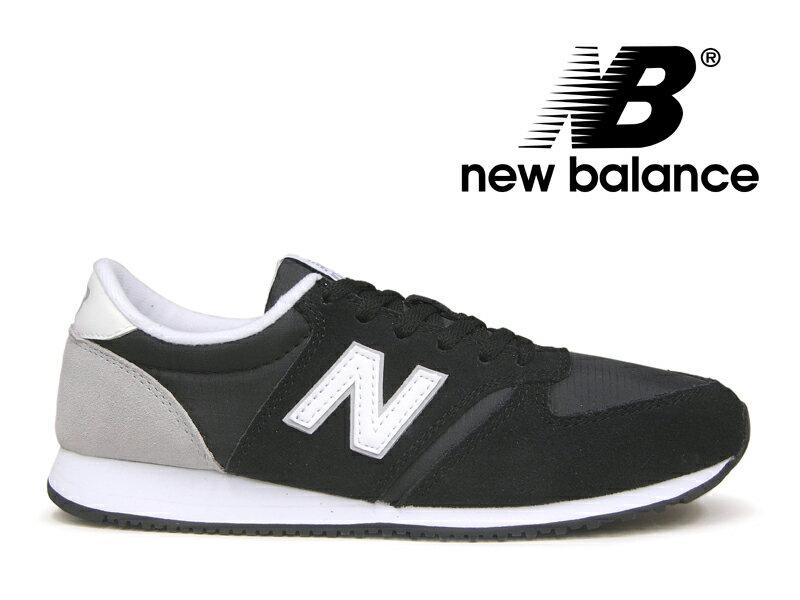 NEW BALANCE WL420 CRB ニューバランス レディース スニーカー ブラック/グレー 黒灰【国内正規品】