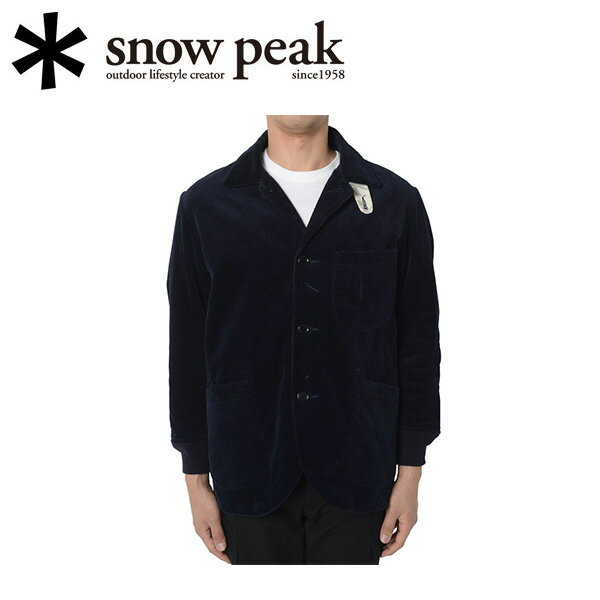 即日発送 【スノーピーク/snow peak】ジャケット/コーデュロイユーティリティジャケット M/JK-15AU40103NV 【SP-APPL】 お買い得!