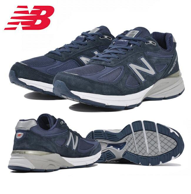 即日発送 【ニューバランス/new balance】 M990NV4 NAVY 日本正規品 【靴】スニーカー お買い得!