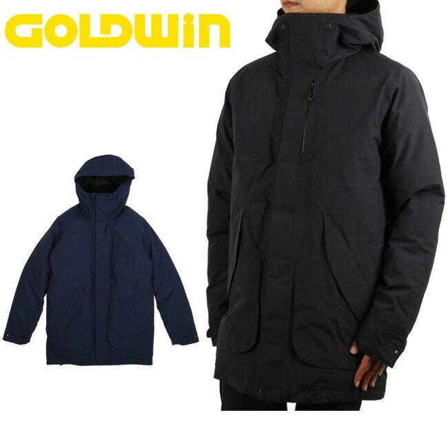 GOLDWIN ゴールドウィン コート HOODED SPUR DOWN COAT GO11710P 【服】アウター メンズ ダウン スキー スノボ