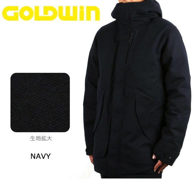 GOLDWIN ゴールドウィン コート HOODED SPUR DOWN COAT GO11712P 【服】アウター メンズ ダウン スキー スノボ