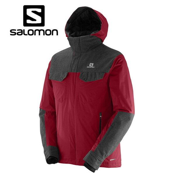【ポイント10倍 12/15~12/17 23:59まで】 サロモン SALOMONSNOWTOWER JACKET ML37464400スキーウェア ジャケット メンズ