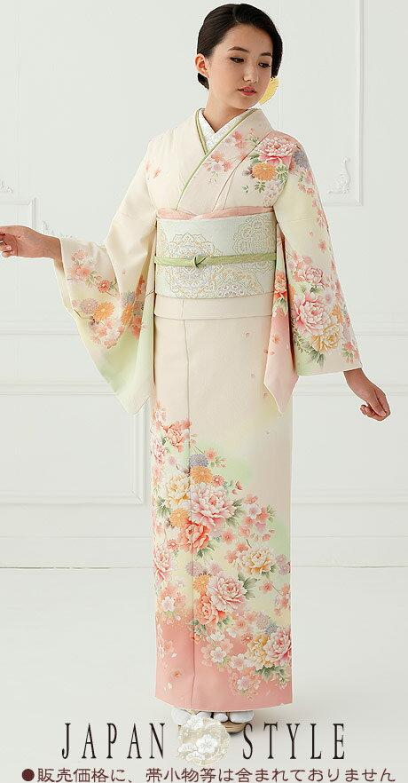 ジャパンスタイル(Japan Style)仕立て上がり洗える着物 訪問着 kimonoJL-26