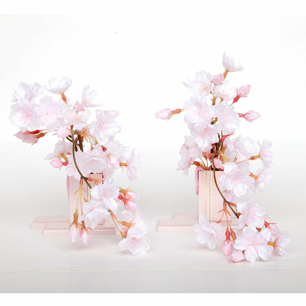 雛人形 小道具単品 ピンク しだれ桜 送料無料