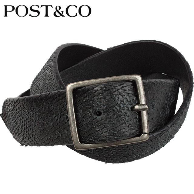 POST&CO ポストアンドコー ベルト 4IL2691 A NERO ブラック