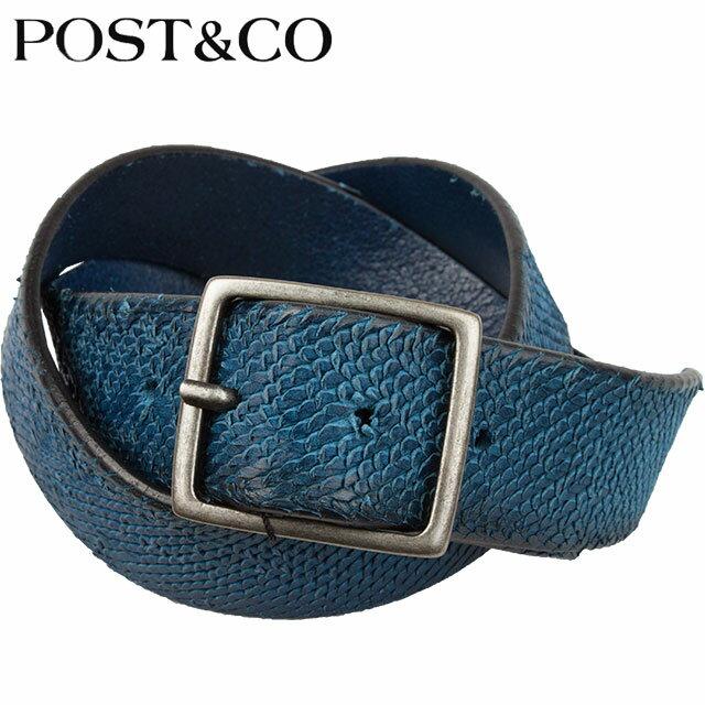 POST&CO ポストアンドコー ベルト 4IL2691 E PETROL
