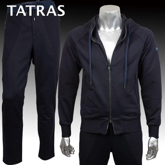 TATRAS タトラス メンズ パーカー パンツ セット TENNO MTA17S8034 MONTICCHIO MTA17S545 NAVY ネイビー