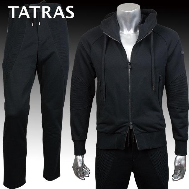 TATRAS タトラス メンズ パーカー パンツ セット TENNO MTA17S8034 MONTICCHIO MTA17S545 BLACK ブラック