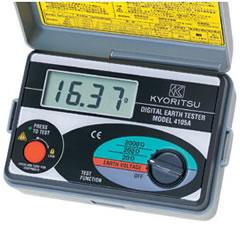 KYORITSU 共立電気計器株式会社 MODEL4105A(ソフトケース付) 接地抵抗計