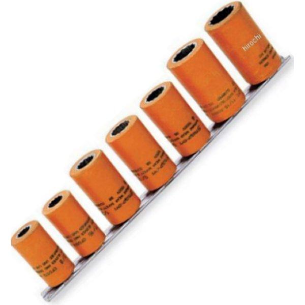 207CFDSY スナップオン Snap-on 非導電性コンポジット ソケット 12ポイント 3/8インチ スクエアドライブ 7点 セット