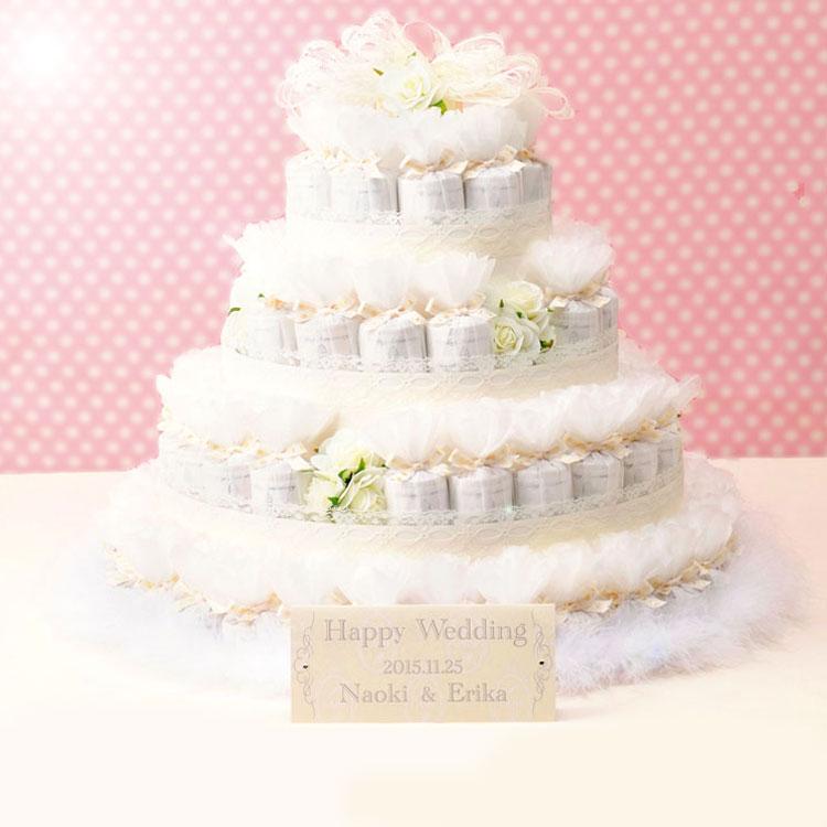 シャイニーデコレーションケーキ プチギフト72個セット【結婚式 ウェルカムボード ディスプレイ】【送料無料】