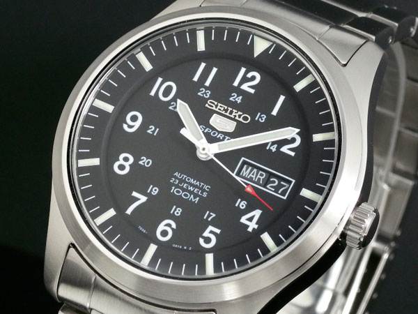 セイコー SEIKO セイコー5 スポーツ 5 SPORTS 自動巻き 腕時計 SNZG13K1